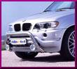 DELTA № 1003702E BMW X5 Передняя решетка - Кенгурятник