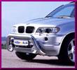 DELTA № 1004702E BMW X5 Передняя решетка - Кенгурятник