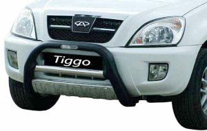 VOYAGER № CTIGG-OHRR CHERY TIGGO 2008- Передняя защита полиуретан